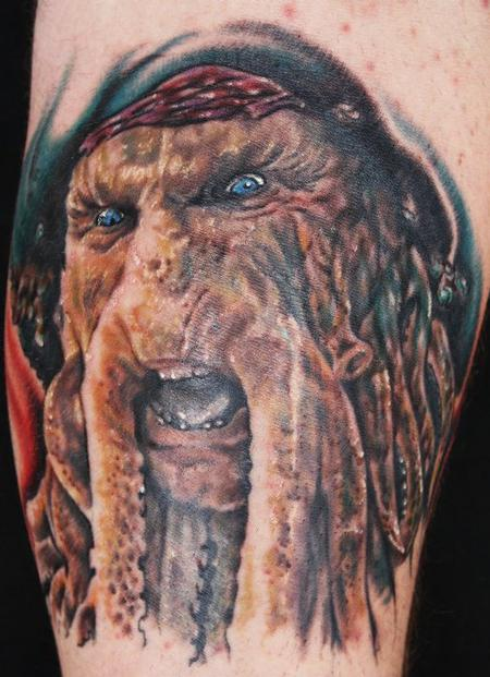 Justin Mariani - Pirates of the Caribbean Tattoo